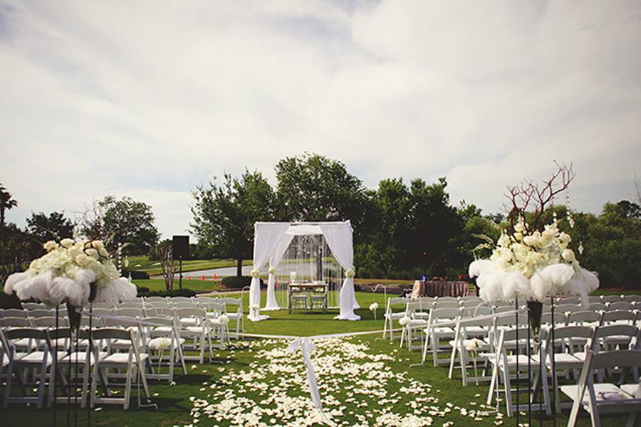 Lakewood Ranch Wedding - Purple, Grey & Silver Florida Golf Course Wedding - Jason Mize Photography with Sarasota Wedding Planner Burkle Events (14)