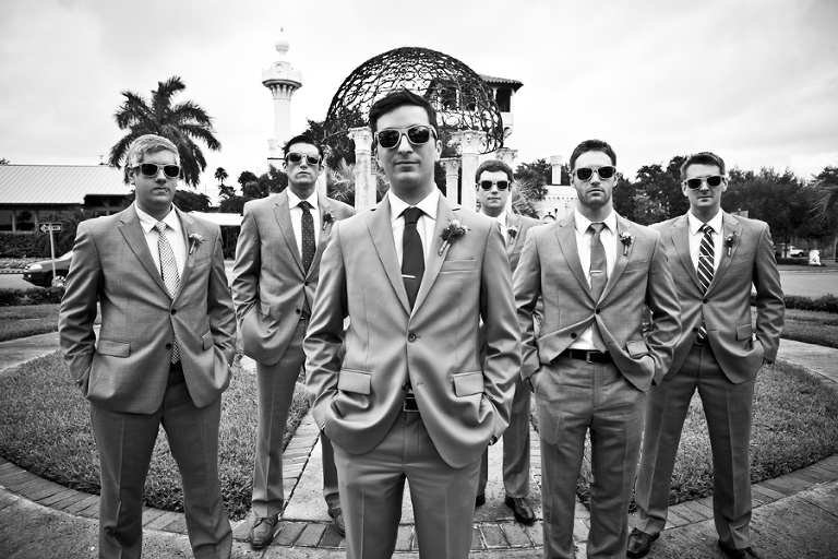 St. Pete Woman's Club Wedding - Modern Vintage Chic Wedding - St. Petersburg Wedding Photographer Mike Ossola Photography (1)