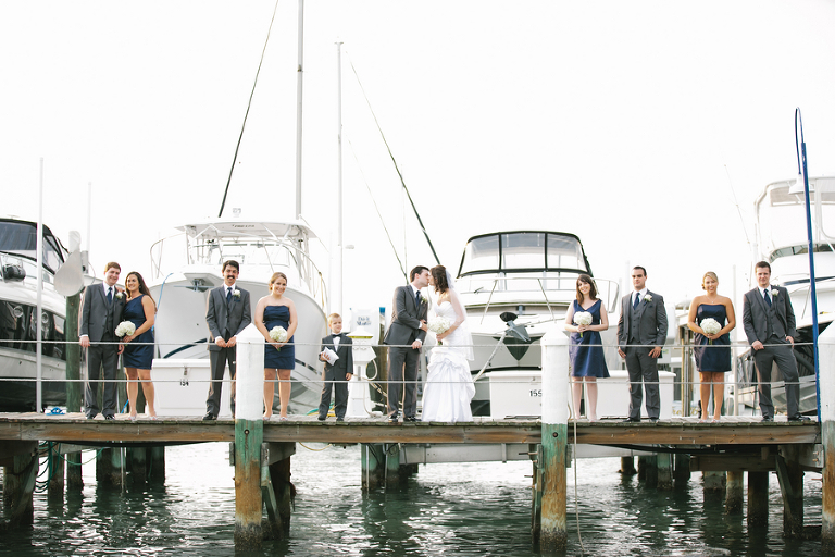White, Silver & Blue St. Petersburg Isla del Sol Wedding - St. Petersburg, FL Wedding Photographer Carrie Wildes Photography (17)