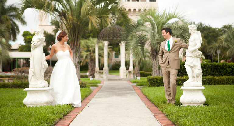 St. Pete Woman's Club Wedding - Modern Vintage Chic Wedding - St. Petersburg Wedding Photographer Mike Ossola Photography (4)