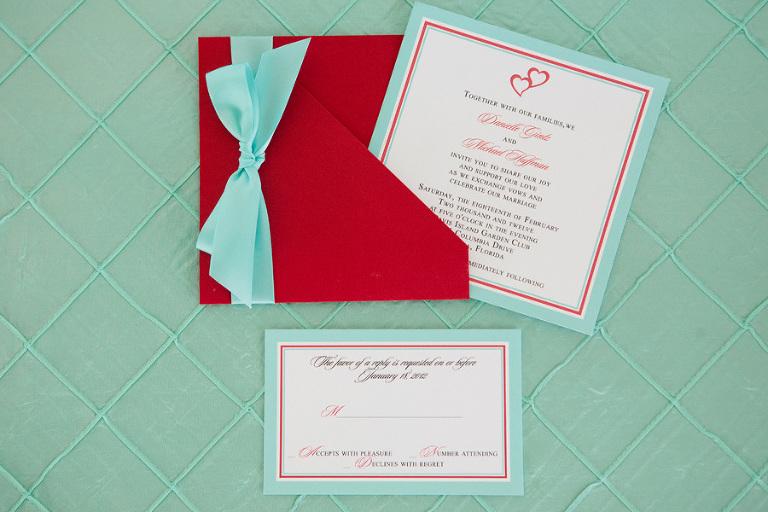Red & Tiffany Blue Vintage Davis Islands Garden Club Wedding - Tampa Wedding Photographer Justin DeMutiis Photography (1)