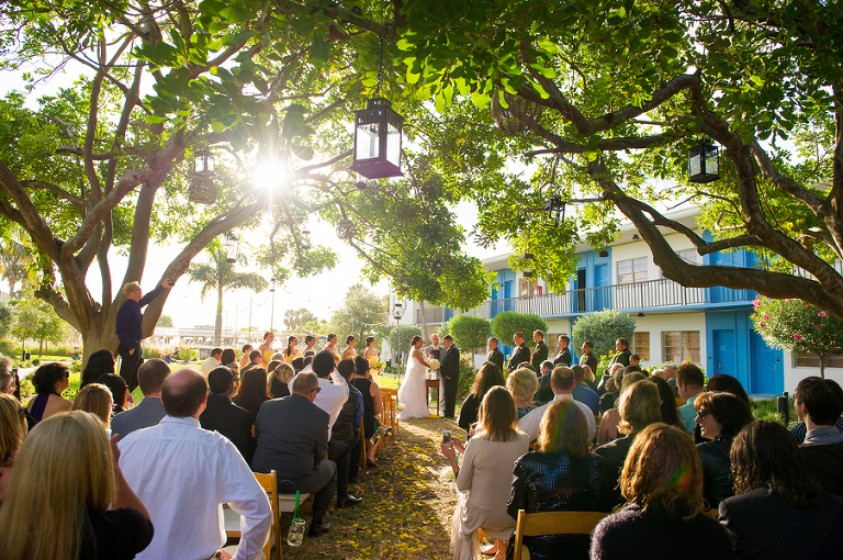 Green & Yellow Clearwater Beach Postcard Inn Wedding - Andi Diamond Photography (22)