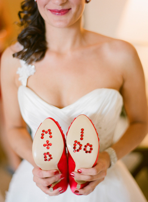 Red & Tiffany Blue Vintage Davis Islands Garden Club Wedding - Tampa Wedding Photographer Justin DeMutiis Photography (2)