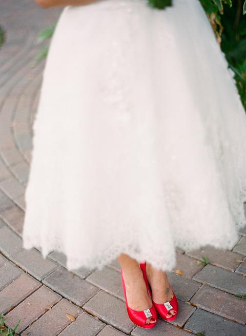 Red & Tiffany Blue Vintage Davis Islands Garden Club Wedding - Tampa Wedding Photographer Justin DeMutiis Photography (3)