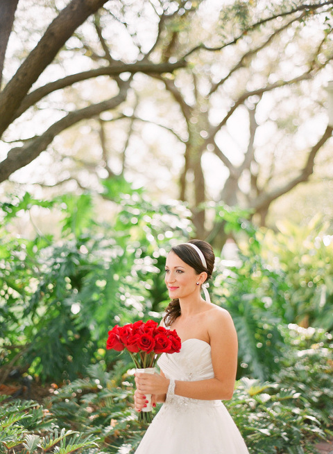 Red & Tiffany Blue Vintage Davis Islands Garden Club Wedding - Tampa Wedding Photographer Justin DeMutiis Photography (4)