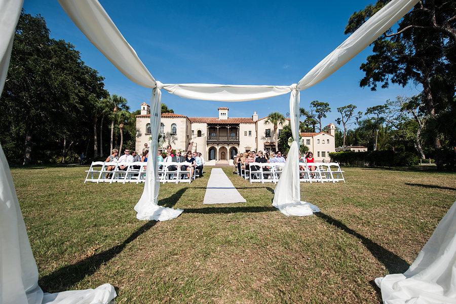 Champagne and Peach Powel Crosley Estate Wedding - Sarasota Wedding Photographer In True Colors (14)
