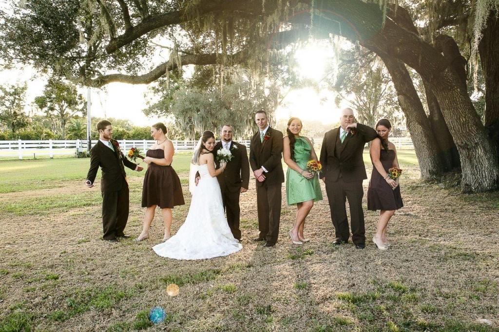 Orange Fall, Rustic Lakeland Wedding - Rocking H Ranch - Lakeland Wedding Photographer Torrie Fagan Studios (19)