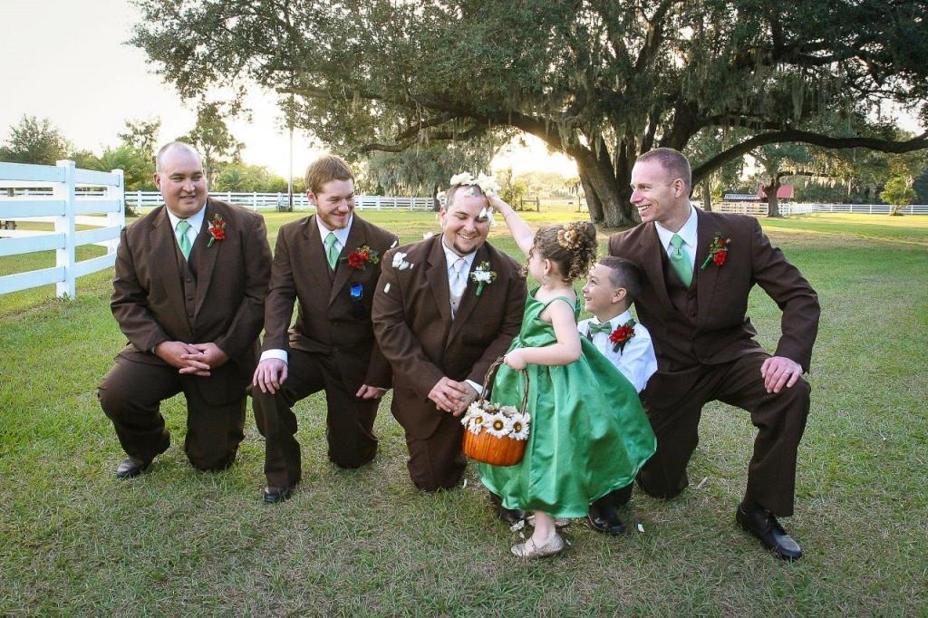 Orange Fall, Rustic Lakeland Wedding - Rocking H Ranch - Lakeland Wedding Photographer Torrie Fagan Studios (20)