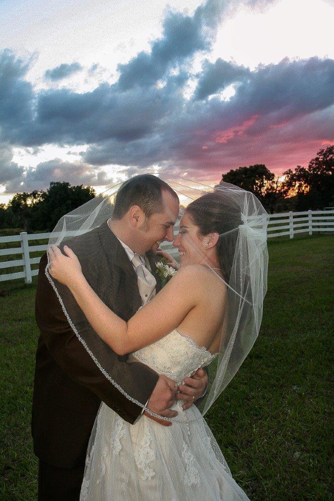 Orange Fall, Rustic Lakeland Wedding - Rocking H Ranch - Lakeland Wedding Photographer Torrie Fagan Studios (30)