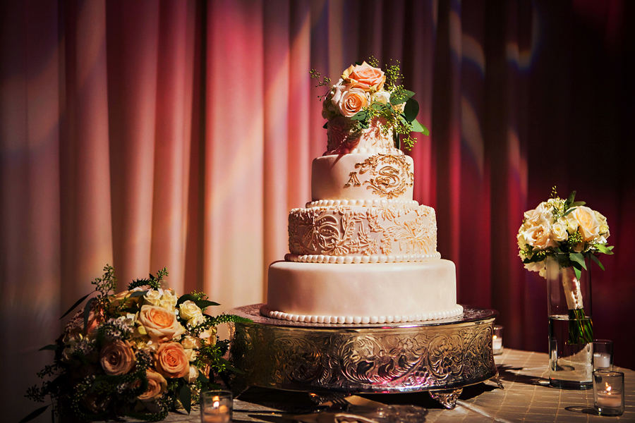 Blush, Ivory, and Champagne Greek Wedding at A La Carte Pavilion - Tampa Wedding Photographer Limelight Photography (52)