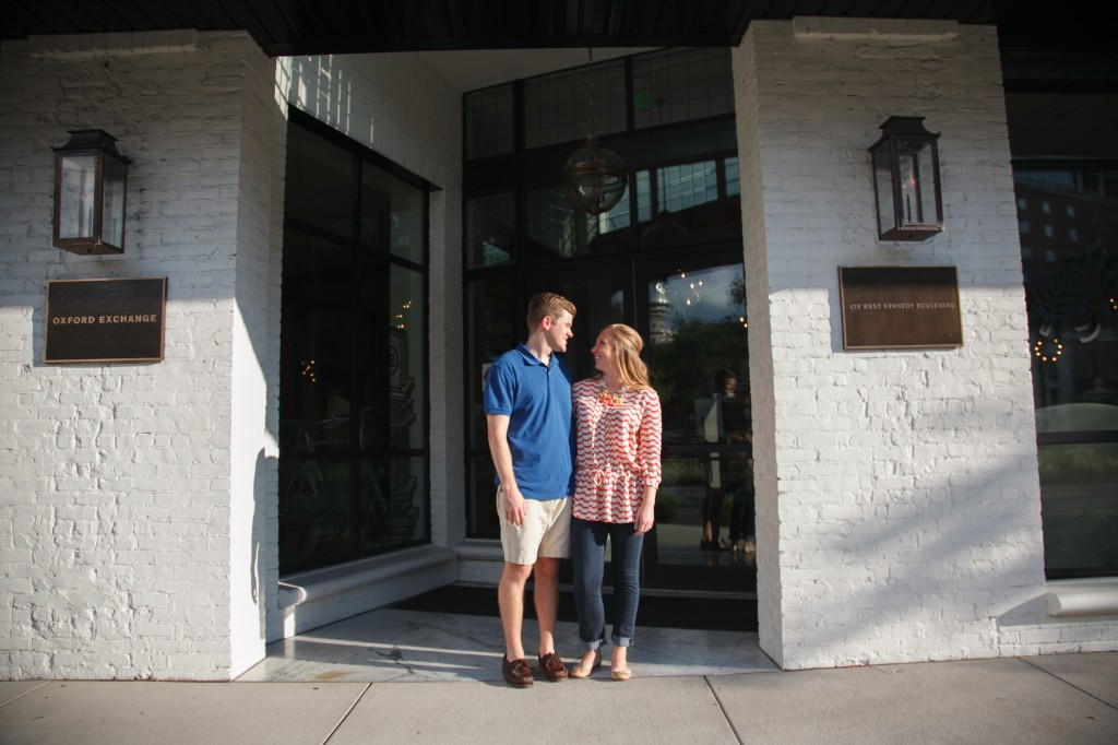 Oxford Exchange Engagement Session, Tampa, FL - Carrie Wildes Photography (2)