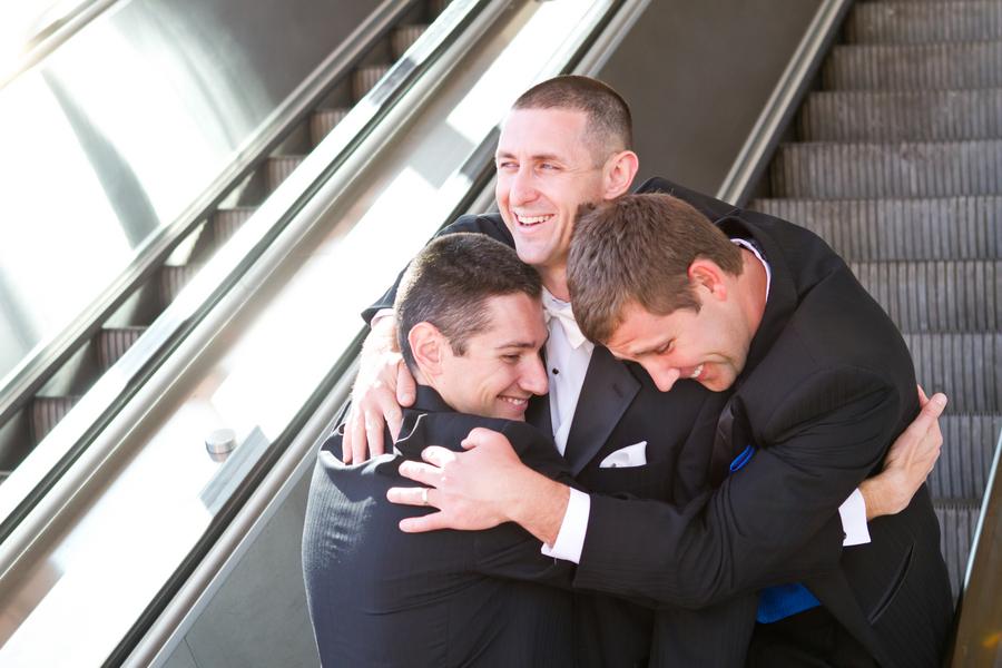 Cobalt Blue and Yellow Florida Aquarium Wedding - Tampa Wedding Photographer Horn Photography and Design (10)