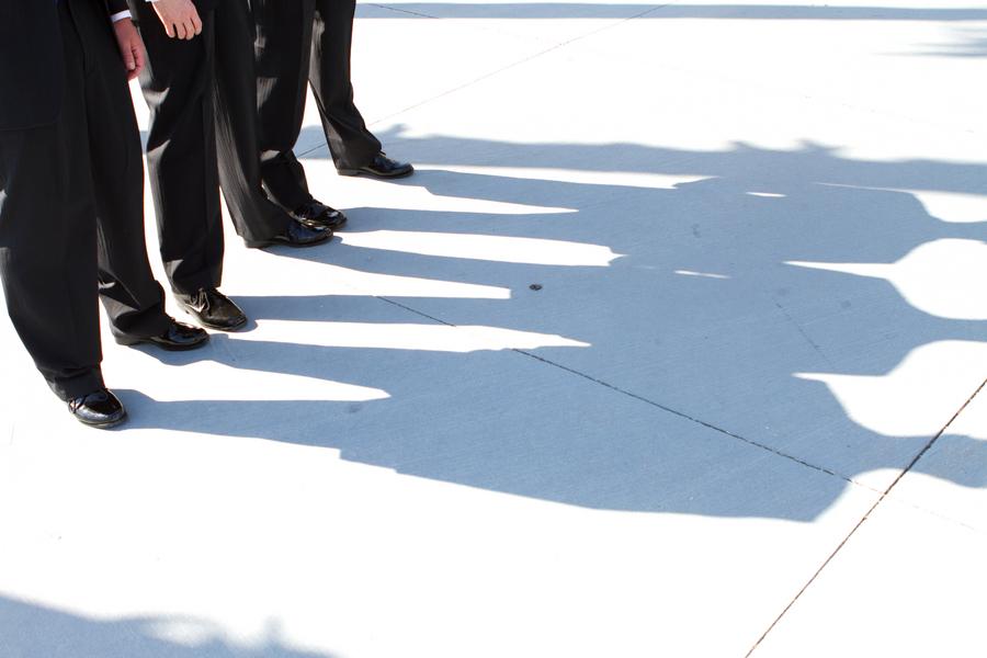 Cobalt Blue and Yellow Florida Aquarium Wedding - Tampa Wedding Photographer Horn Photography and Design (11)