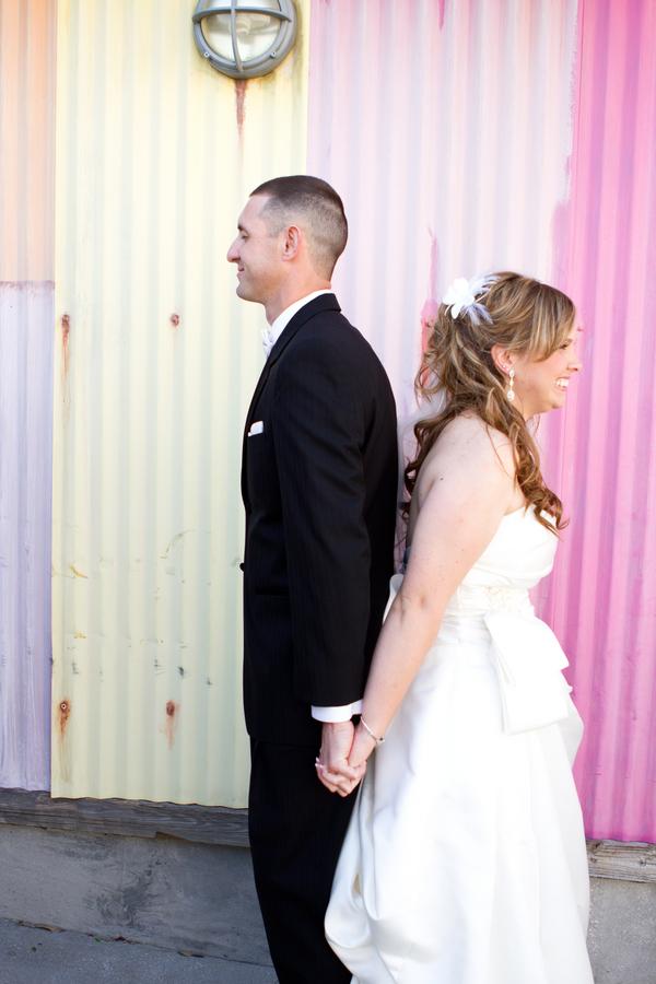 Cobalt Blue and Yellow Florida Aquarium Wedding - Tampa Wedding Photographer Horn Photography and Design (13)