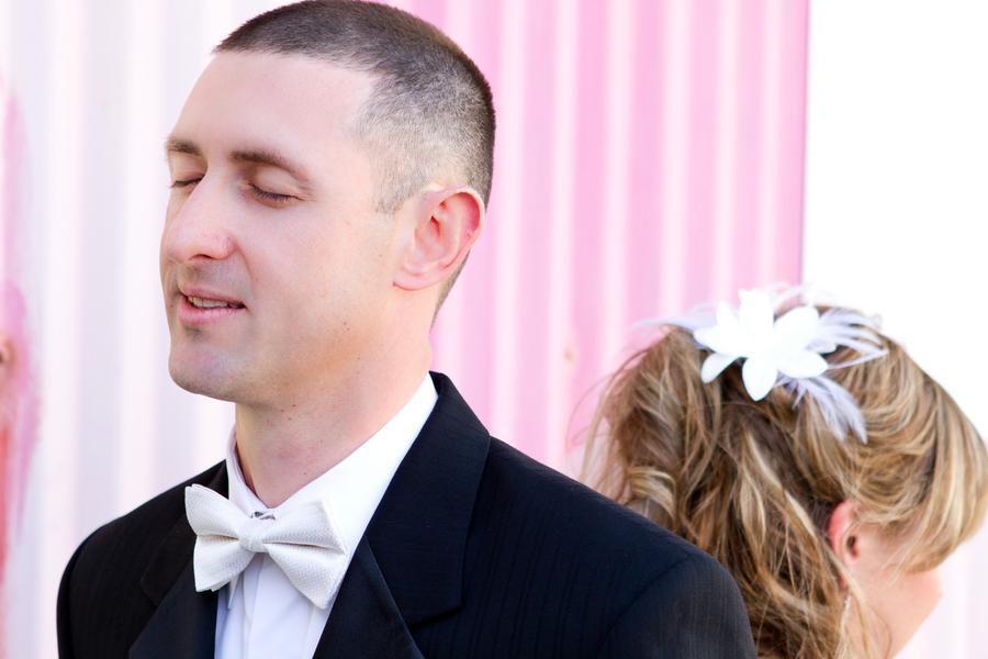 Cobalt Blue and Yellow Florida Aquarium Wedding - Tampa Wedding Photographer Horn Photography and Design (14)