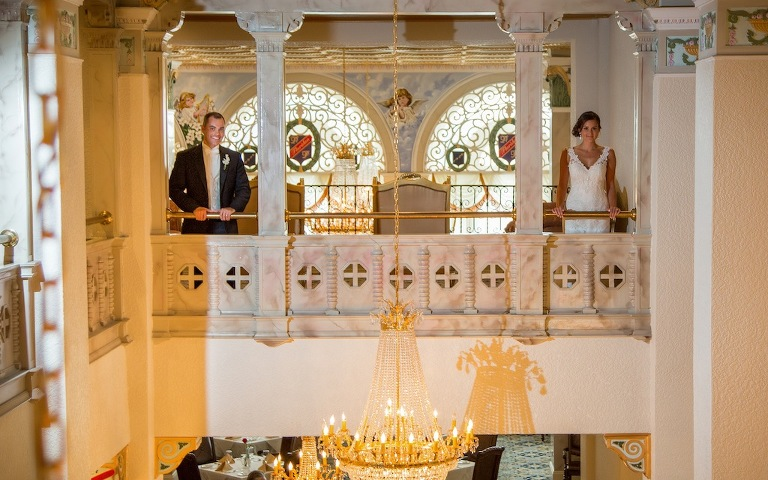 Floridan Palace Wedding   Vintage Gold, Champagne, and Ivory Downtown Tampa Wedding (23)