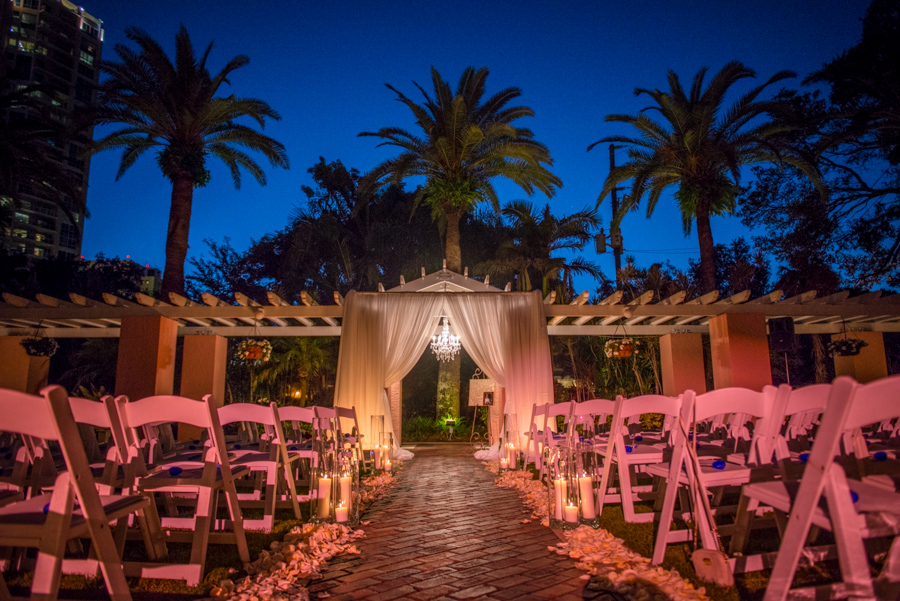 Modern White, Silver & Royal Blue St. Petersbug Vinoy Wedding - St. Pete Wedding Photographer Aaron Lockwood Photography (35)