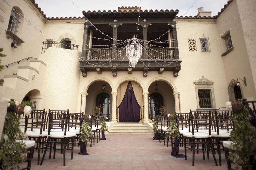 Eggplant and Burlap Destination Powel Crosley Estate Sarasota Wedding » Marry Me Tampa Bay ...