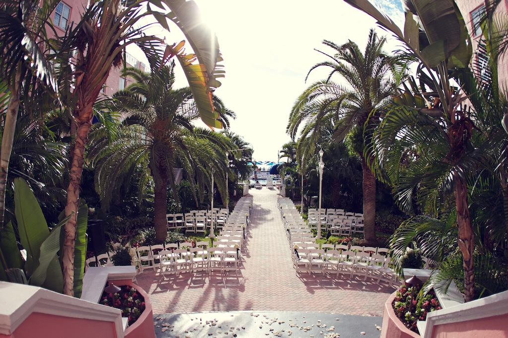 Navy Blue Silver Amp White St Pete Beach Wedding Don