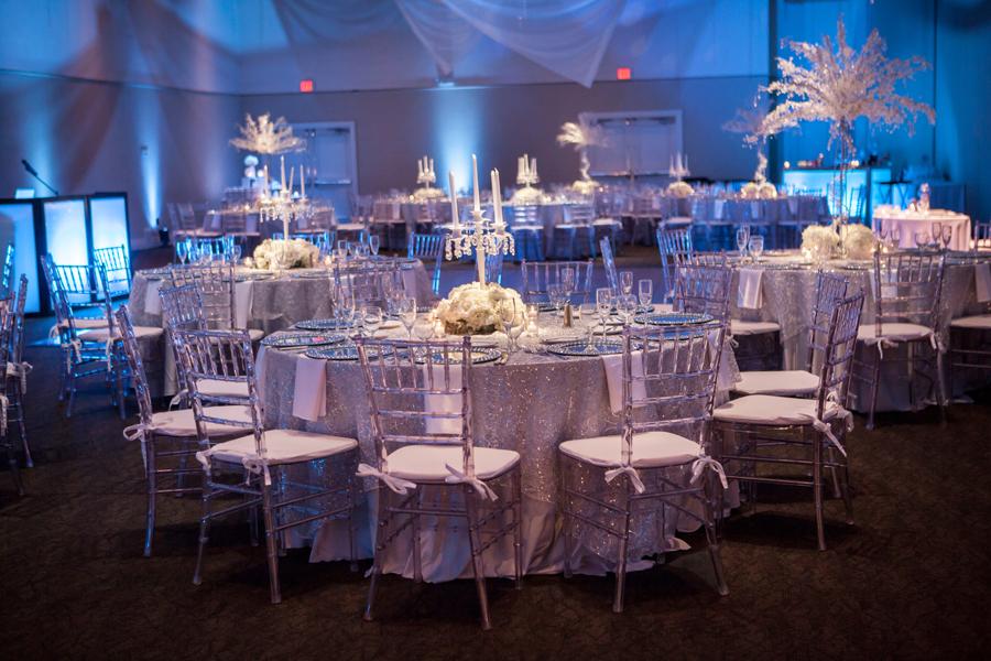 White, Silver & Blue Winter Wonderland Wedding at A La Carte Pavilion - Tampa Wedding Photographer Andy Martin Photography (31)
