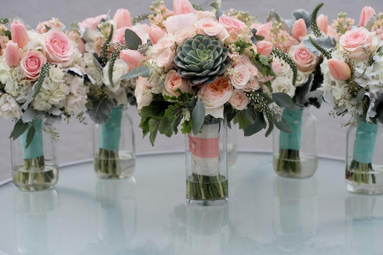 Peach, Mint & Gold St. Pete Beach Wedding - Marie Still Photography (4)
