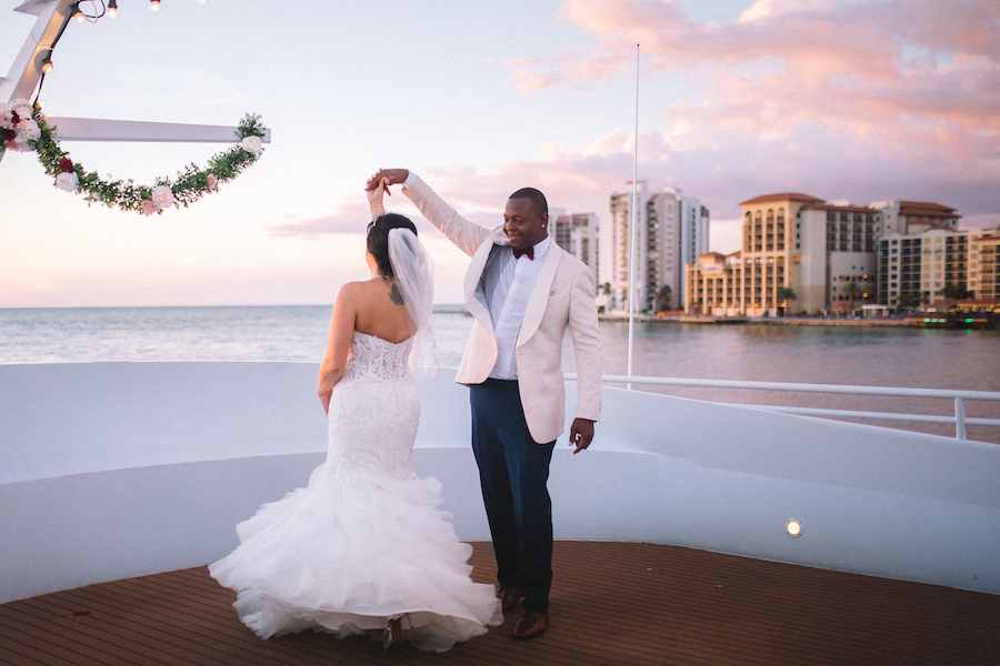Tampa, Clearwater Waterfront Wedding Venue | Yacht StarShip
