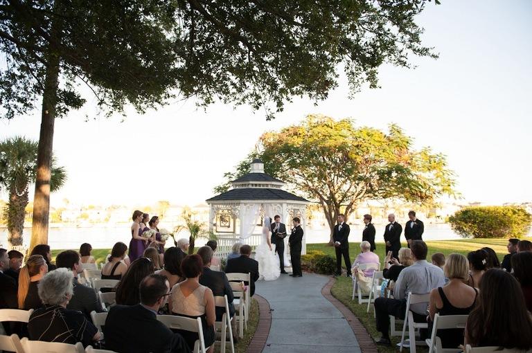 Purple, Ivory and Champagne Vintage Glam Wedding - Davis Islands Garden Club - Tampa Wedding Photographer Stephanie A. Smith Photography (14)
