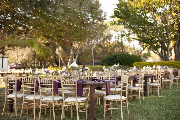 Davis Islands Garden Club Wedding - Waterfront Tampa Wedding Venue