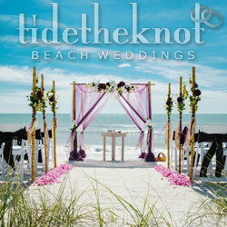 Best St. Petersburg Beach, FL Destination Wedding Planner Tide the Knot Beach Weddings