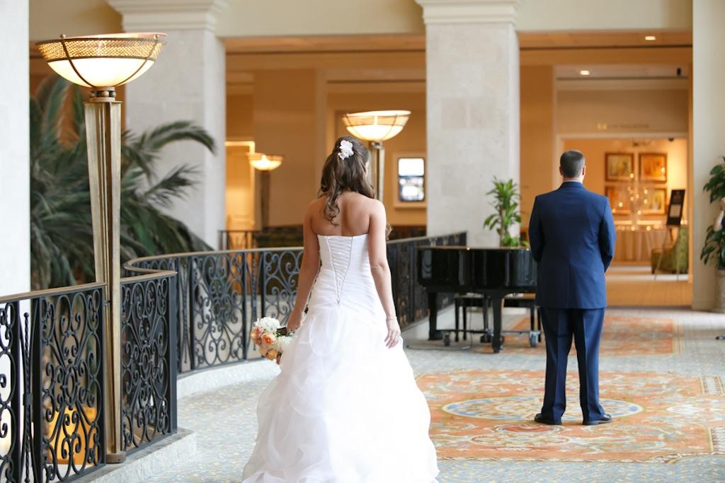Florida Aquarium Wedding - Downtown Tampa Wedding Venue - Navy Blue & Pink Nautical Wedding (34)