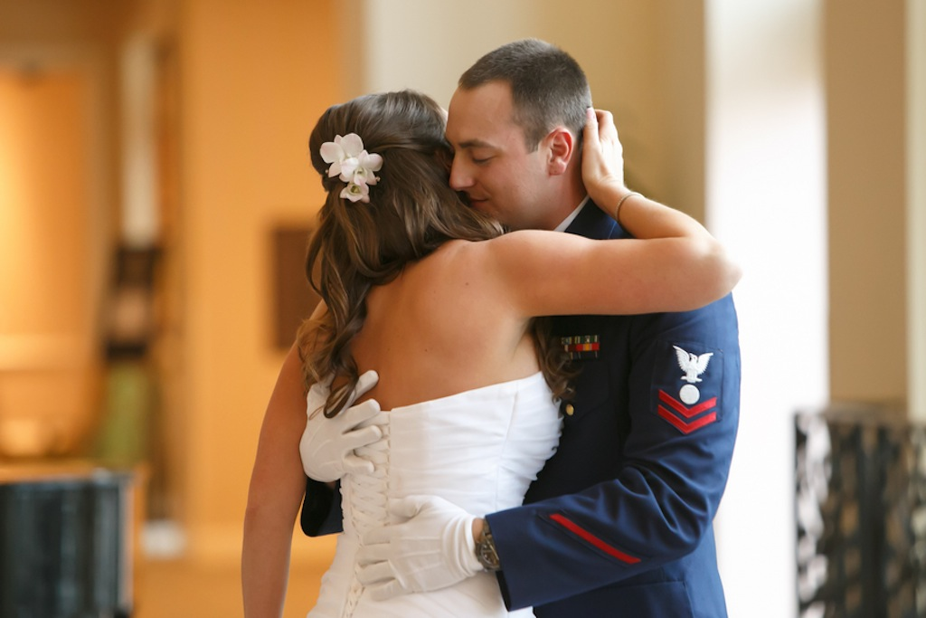 Florida Aquarium Wedding - Downtown Tampa Wedding Venue - Navy Blue & Pink Nautical Wedding (33)