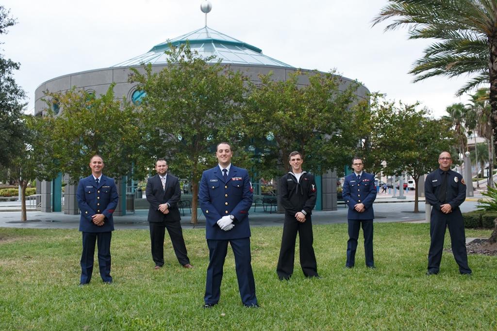 Florida Aquarium Wedding - Downtown Tampa Wedding Venue - Navy Blue & Pink Nautical Wedding (30)