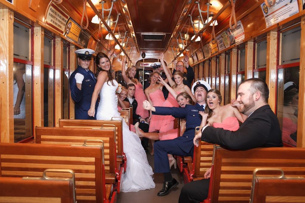 Florida Aquarium Wedding - Downtown Tampa Wedding Venue - Navy Blue & Pink Nautical Wedding (29)