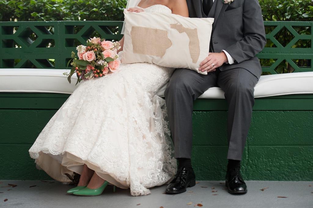 Davis Island Garden Club Wedding - Coral and Mint Green Natural Wedding - Tampa Wedding Photographer Sarah & Ben (28)
