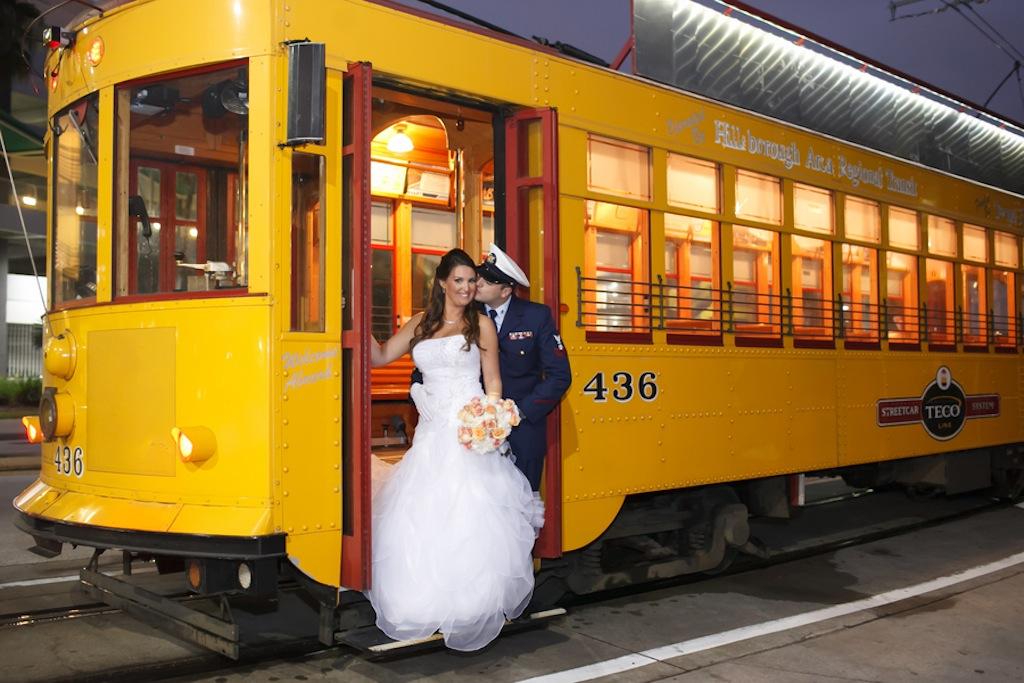 Florida Aquarium Wedding - Downtown Tampa Wedding Venue - Navy Blue & Pink Nautical Wedding (28)