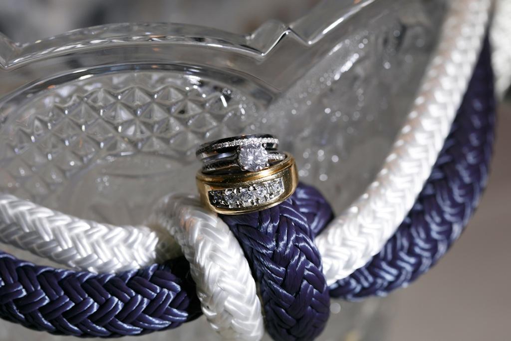 Florida Aquarium Wedding - Downtown Tampa Wedding Venue - Navy Blue & Pink Nautical Wedding (1)