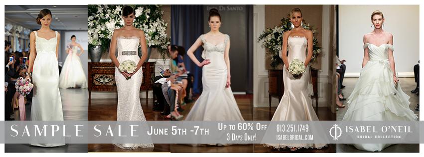 Wedding Dresses Tampa - Isabel O'Neil Bridal