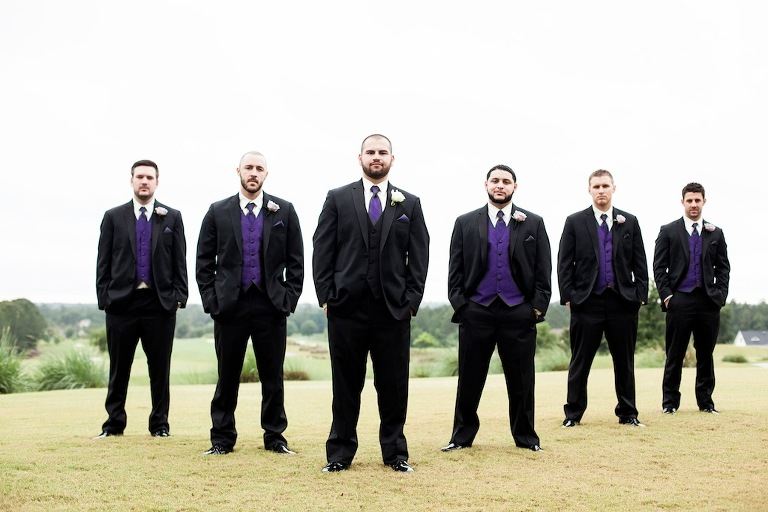 Brooksville Wedding - Purple, Silver & Ivory Wedding at Southern Hills Plantation Club - Brooksville Wedding Photographer Blue Lane Studios (5)