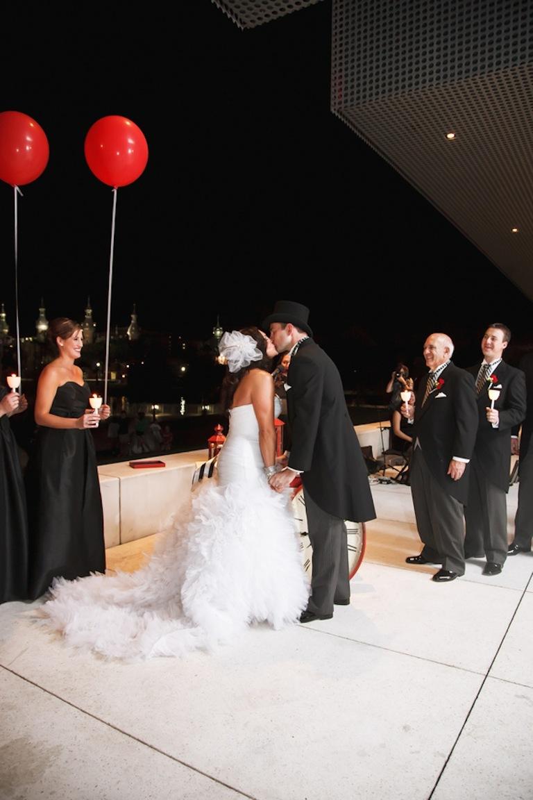 Tampa Museum of Art Wedding Modern Carnival Wedding