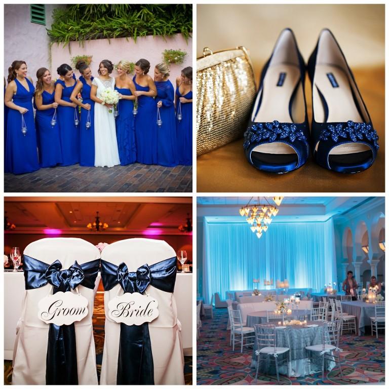 Blue Weddings in Tampa Bay