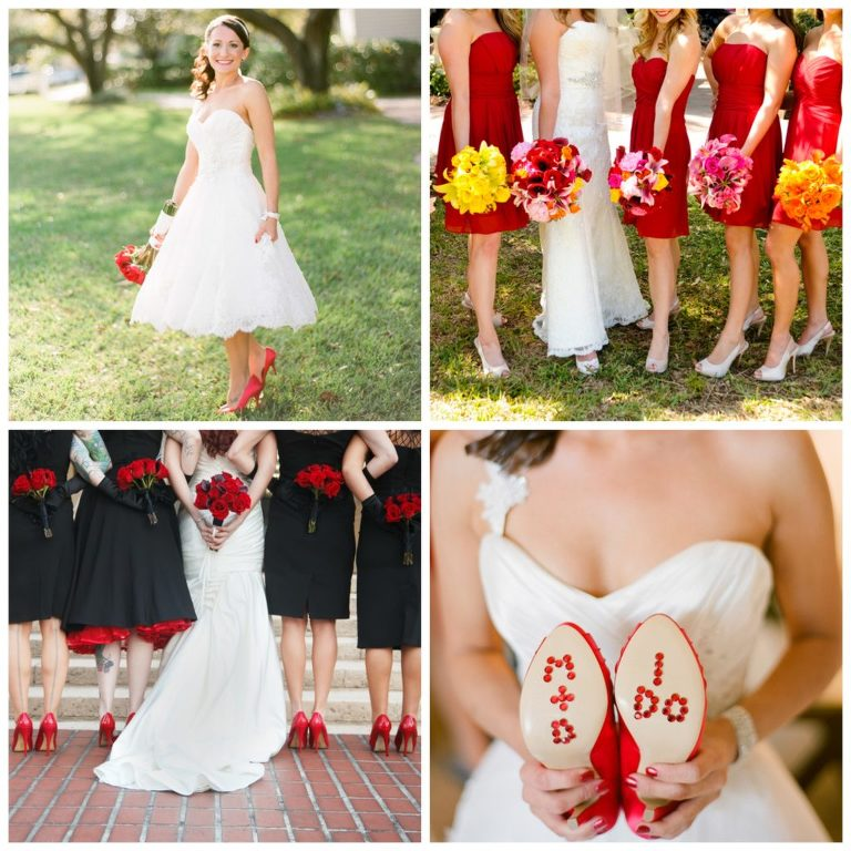 Red And White Wedding.4th Of July Wedding Inspiration Red White Blue Weddings