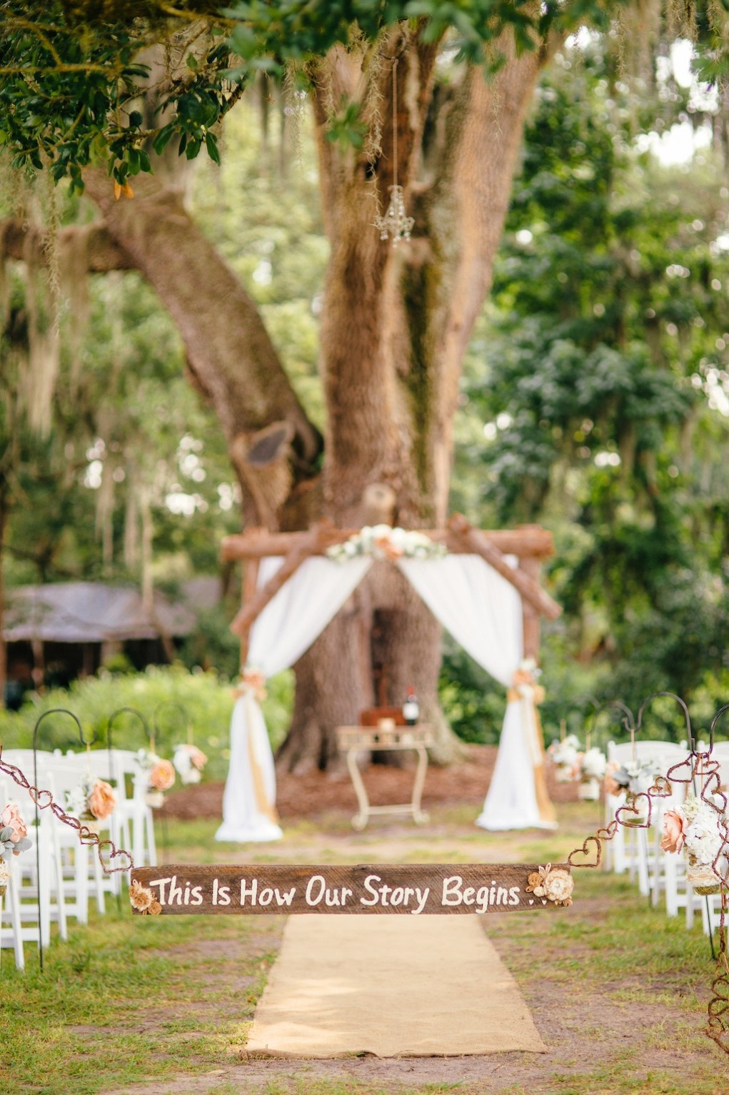 Cross Creek Ranch Wedding near Tampa Bay, Fl - Rustic Rose, Burlap and Lace by Lakeland Wedding Photographer Sunglow Photography (10)