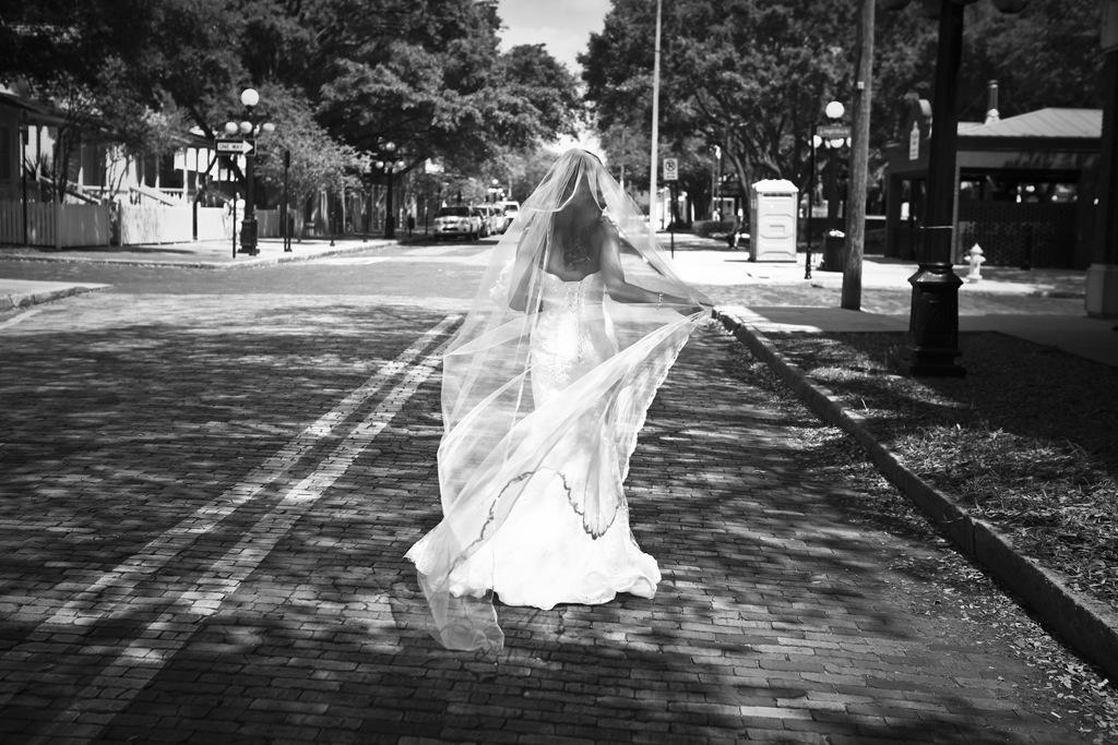 Vintage Wedding Dresses Tampa: 1920's Vintage, Ybor City Wedding