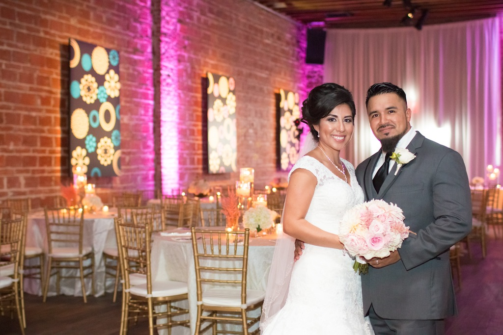 Ivory, Pink and Gold Romantic Wedding - NOVA 535 Wedding - St Pete Wedding Photographer James & Elaine Photography (29)