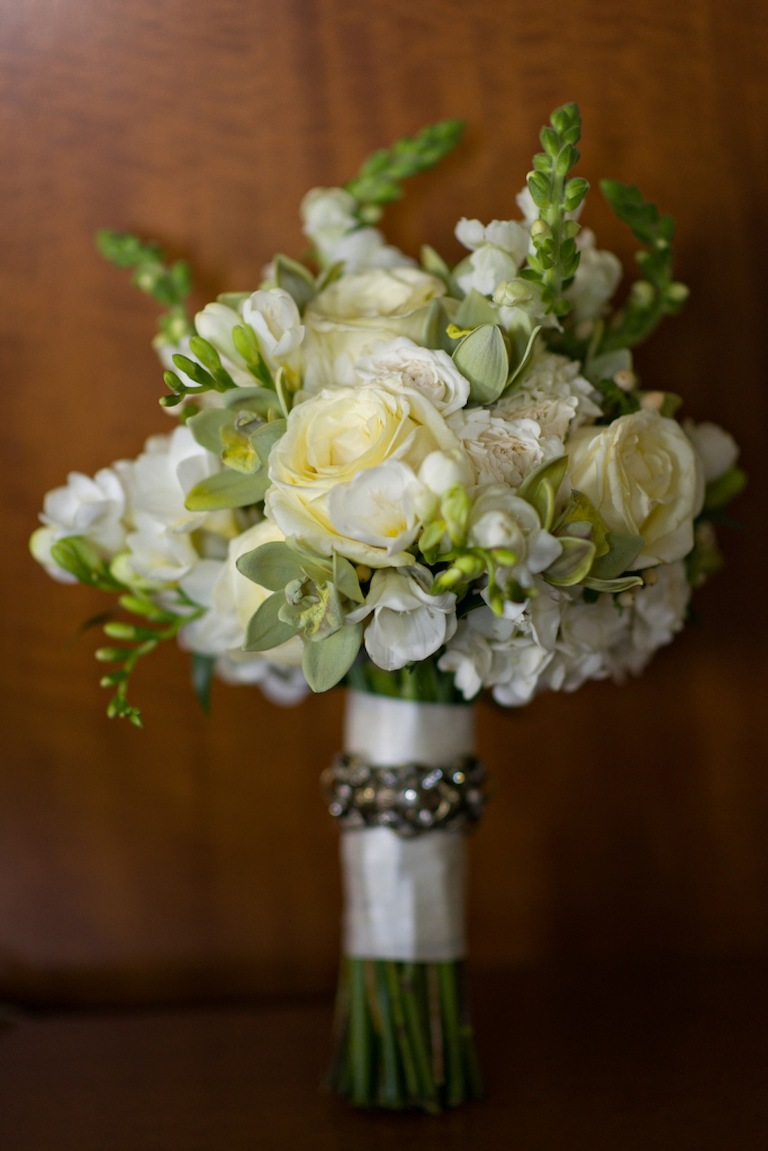 Gold & Green Sophisticated Southern Oxford Exchange Wedding - Tampa Wedding Photographer Aaron Bornfleth Studios and Andrea Layne Floral Design (6)