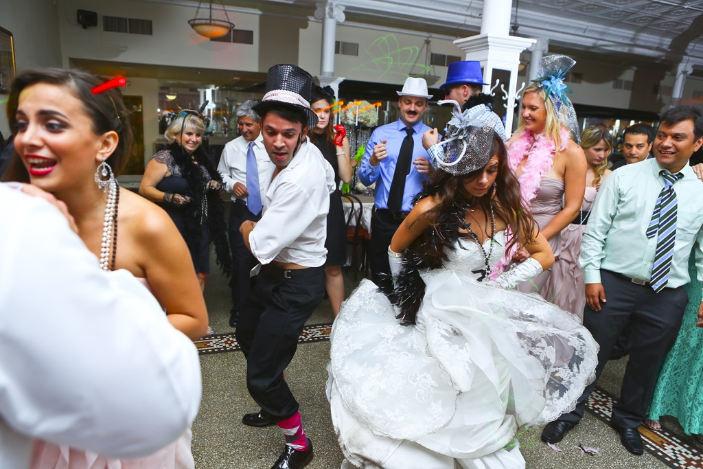1920's Vintage, Ybor City Wedding - Centro Asturiano Wedding - Tampa Wedding Photographer Roberts Imagery - Tampa Wedding Florist Northside Florist (56)