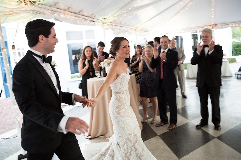 "Cream, White, & Gold ""Old Florida"" Wedding in South Tampa - Tampa Yacht Club Wedding - Tampa Wedding Photographer Blue Lane Studios (63)"