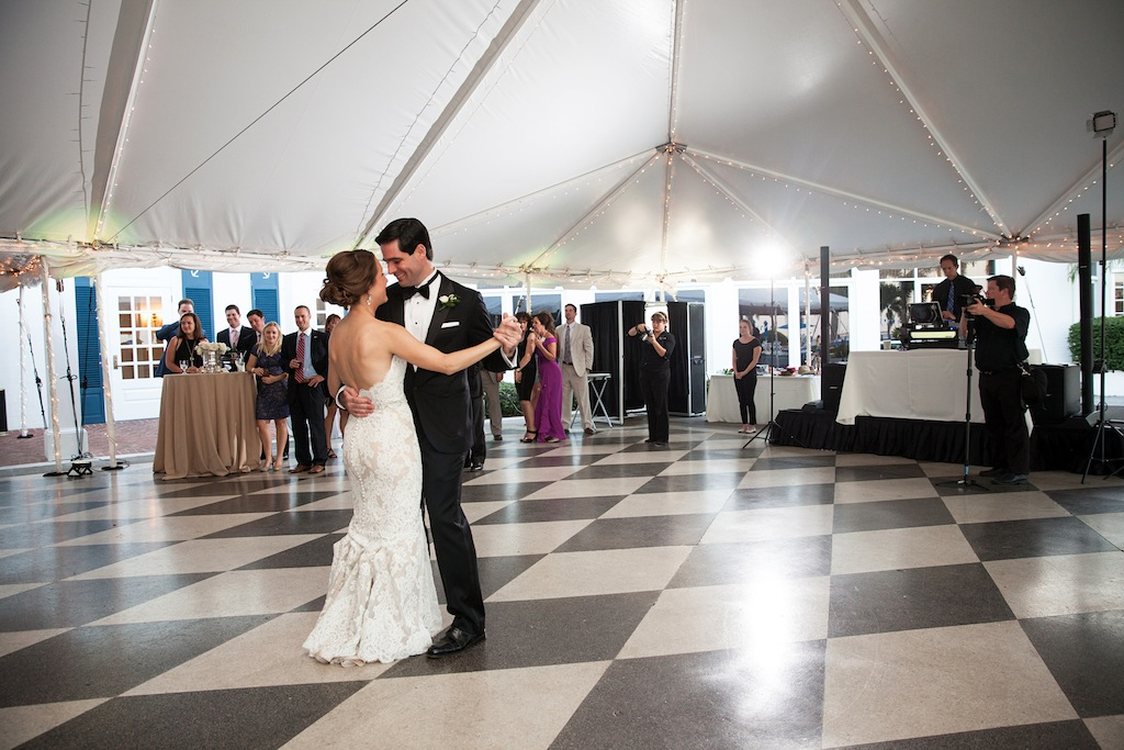 "Cream, White, & Gold ""Old Florida"" Wedding in South Tampa - Tampa Yacht Club Wedding - Tampa Wedding Photographer Blue Lane Studios (64)"