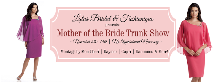 St. Pete Bridal Shop Lulus Bridal Mother of the Bride Trunk Show