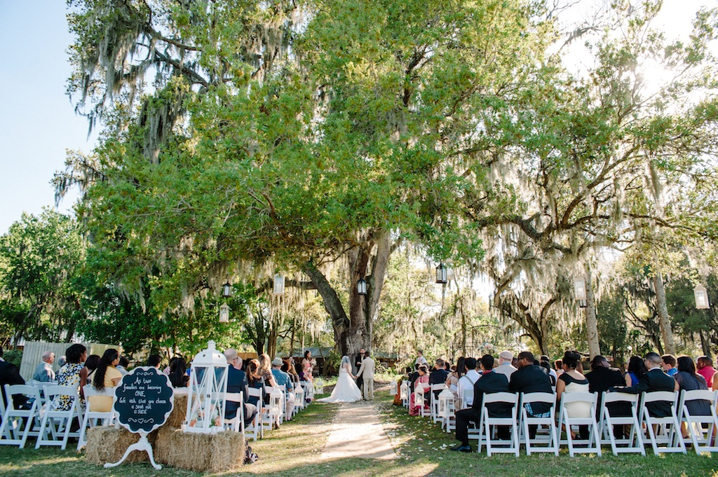 Mint, Coral and Yellow Rustic, Chic Cross Creek Ranch Wedding - Tampa Wedding Photographer 12-1 Photography (26)